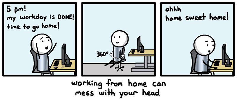 Quels sont les avantages - inconvénients du home-office ?
