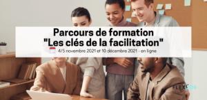 """Découvrez notre parcours de formation """"les clés de la facilitation"""" en novembre !"""